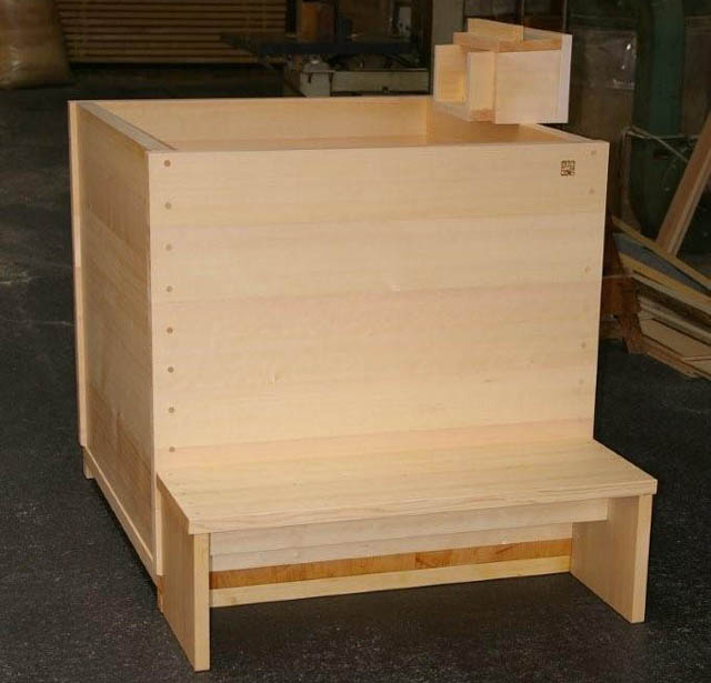 ofuro soaking hot tubs: hinoki tub for Texas