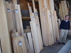 hinoki wood planks