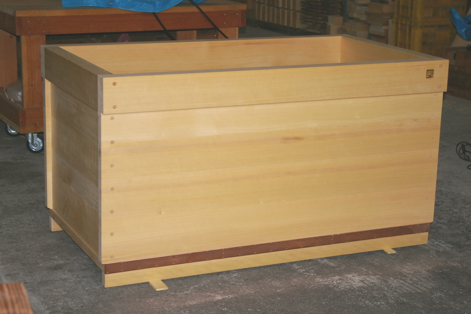 ofuro soaking hot tubs: asnaro tub for a nice couple in CA