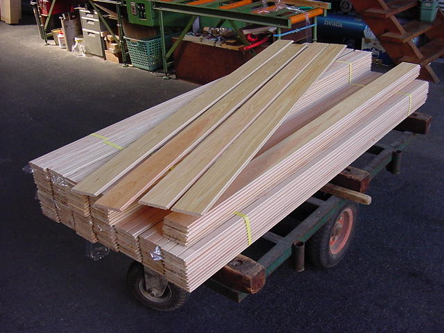 wood for japanese tub