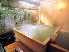 hinoki bath tub