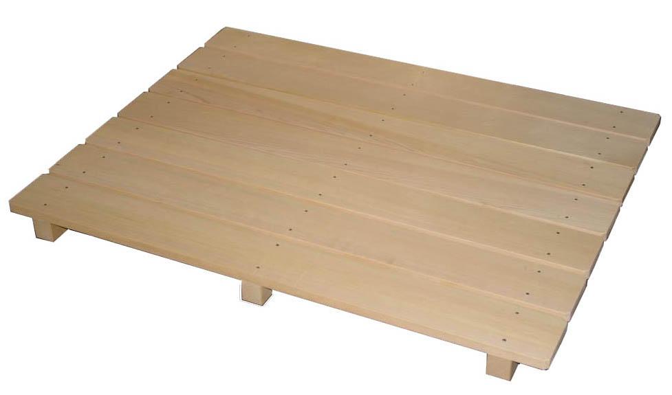 wooden duckboard