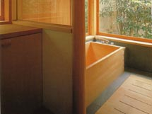wood tub